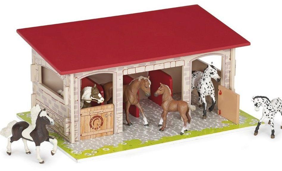 Gábinčin domeček pro koníky